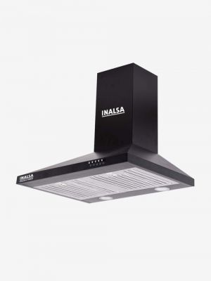 Inalsa Classica 60BKBF 60 cm 1050 CMH Wall Mounted Chimney (Black)