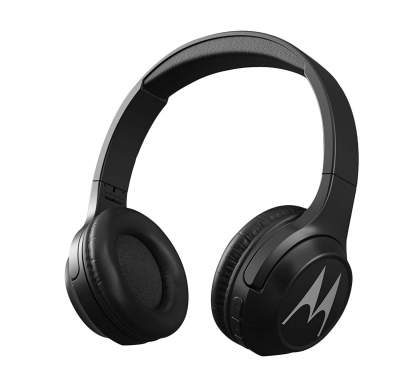 (Renewed) Motorola Escape 210 Over The Ear Bluetooth Headphones (Black)