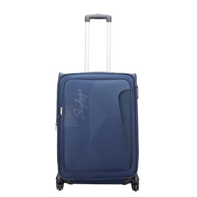 Skybags Footloose Hamilton Polyester 46 cms Blue Softsided Suitcase (STFHM68ERBL)