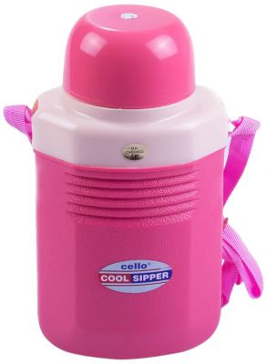 Cello Cool Sipper Water Bottle, 2 Litres, Pink
