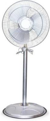 Akshat High Speed Pedestal Fan for Cooling with Automatic Oscillation (400 MM) 400 mm Energy Saving 3 Blade Pedestal Fan  (MULTICOLOR, Pack of 1)