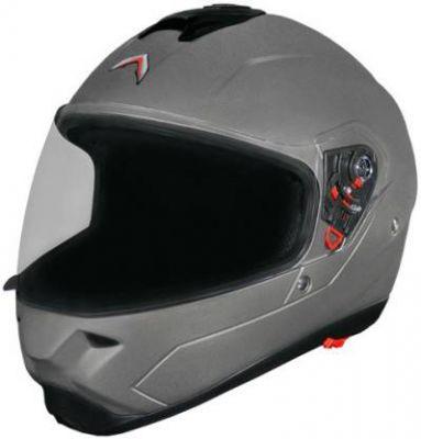 Mavox FX 21 Motorbike Helmet (Glossy Silver Sheen)