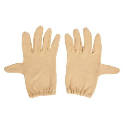 R.J.VON Brown Half Hand Gloves Cold & Sun Protective