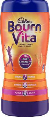 Cadbury Bournvita Health Nutrition Drink  (500 g, Chocolate Flavored)