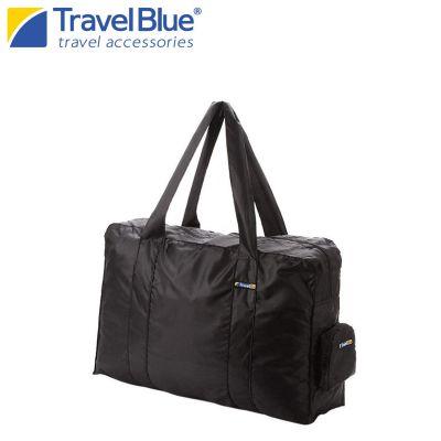 Travel Blue Black 16 Litres Travel Folding Duffle Carry Bag