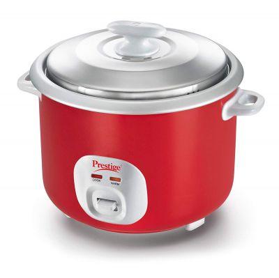 Prestige Cute 2.8-Litre Electric Rice Cooker (Red)