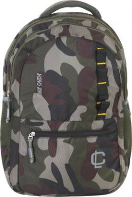 LOUIS CARON Unisex Military Design Waterproof School Bag