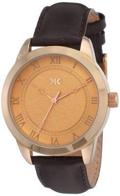 Killer Analog Gold Dial Women's Watch-KLW524D