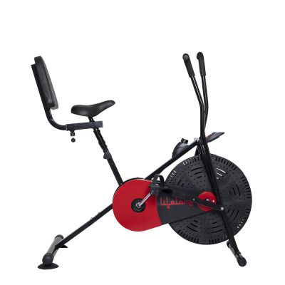 Lifelong LLF09 Steel Airbike with Back Support and Without Moving Handle