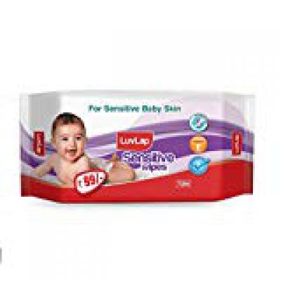 LuvLap Baby Wipes Sensitive 72's