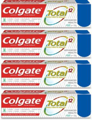 Colgate Total Advance Health Toothpaste  (120 g, Pack of 4)