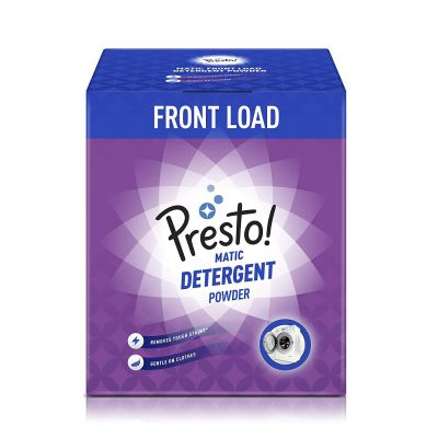 Amazon Brand - Presto! Matic Front Load Detergent Powder - 3 kg