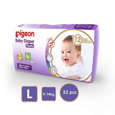Pigeon Ultra Premium Large Diaper Pants (32 Count)