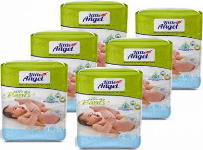 Little Angel Baby Diaper Pants - L  (288 Pieces)