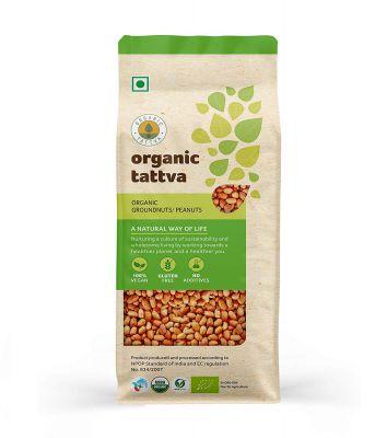 Organic Tattva Peanuts, 500g