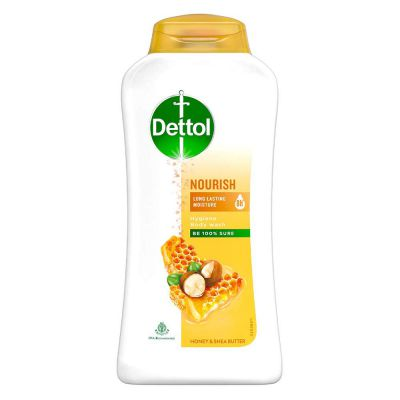 Dettol Body Wash and shower Gel, Nourish - 250ml