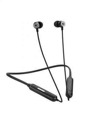 Wings Switch Bluetooth Headset  (Black, Wireless in the ear)