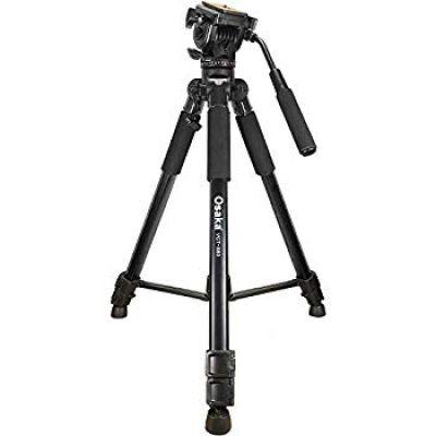 Osaka VCT880 Camera Tripod with Bag for Digital SLR & Video Cameras Load Capacity 5000 Grams