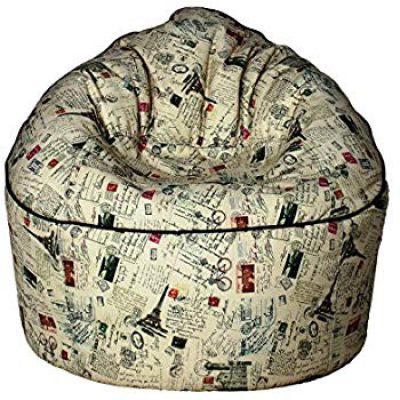 Sattva Vintage XXXL Sofa Bean Bag Without Beans (Stamps)