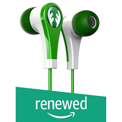 (Renewed) iFrogz IF-ANE-DER Earbuds Specially for Kids (Safe for Ears)- Green