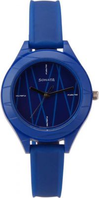 Sonata 87023PP02 Analog Watch - For Women
