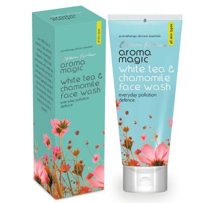Aroma Magic White Tea And Chamomile Face Wash, 100ml