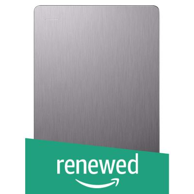 (Renewed) Seagate 5TB Backup Plus (Silver) USB 3.0 External Hard Drive for PC/Mac with 2 Months Free Adobe Photography Plan