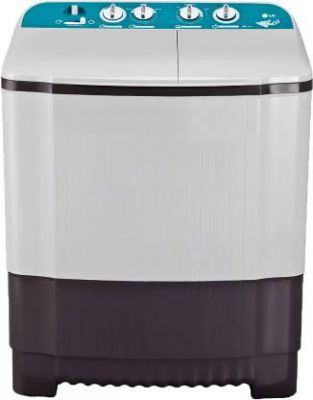LG 6 kg With Collar Scrubber Semi Automatic Top Load Grey, White (P6001RG)