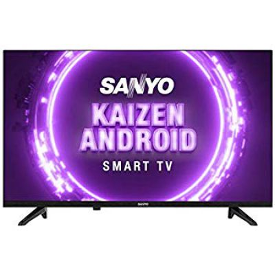 Sanyo 80 cm (32 inches) Kaizen Series HD Ready Smart Certified Android IPS LED TV XT-32A170H (Black) (2019 Model)