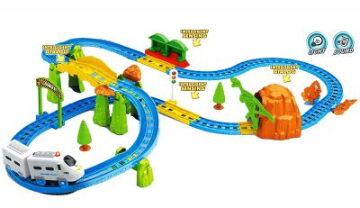 Webby Kids Big Train with Flyover with Intelligent Sensing and Dialog with Light Effects