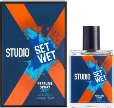 Set Wet Studio X Perfume Spray for Men, Zest Eau de Toilette - 49 ml  (For Men)