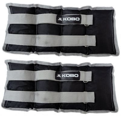 KOBO Aerobic Ankle Weight/Wrist Weight for Cardio Home Gym Exercise & Fitness (Imported)