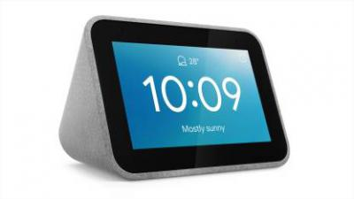 Lenovo Smart Clock (with Google Assistant) (Grey)...