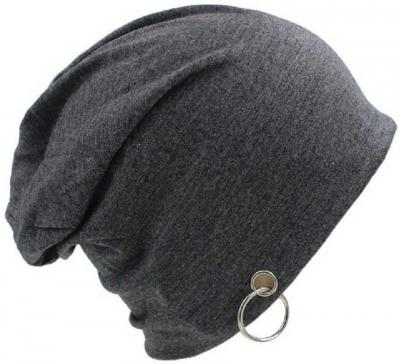 FashMade Solid Slouchy Ring Beanie Cap
