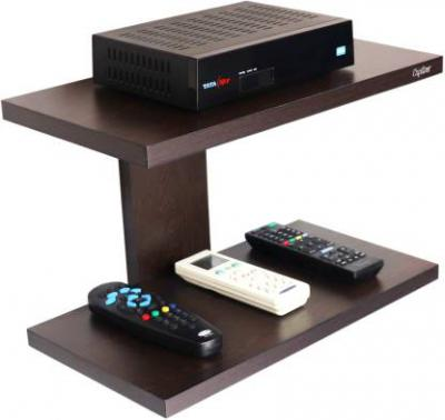 Captiver Aai Set Top Box Stand Weng Particle Board Wall Shelf