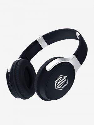 Nu Republic Triphop Over The Ear Bluetooth Headphone With Mic (Black)