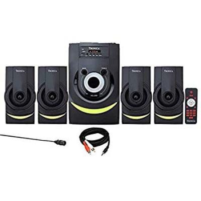 TRONICA DRUMMZ 4.1 Home Theater with Bluetooth/SD Card
