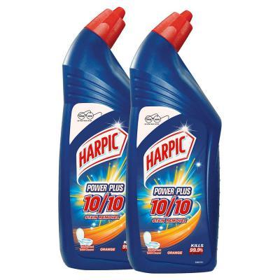 Harpic Powerplus Disinfectant Toilet Cleaner, Original - 1 L (Pack of 2)