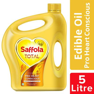 Saffola Total, Pro Heart Conscious Edible Oil, Jar, 5 L
