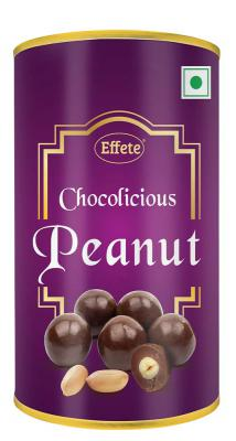 Effete Chocolate Coated Peanuts Chocolate - 96 Grams...