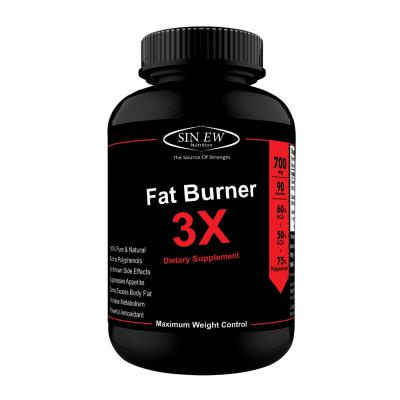 Sinew Nutrition Natural Fat Burner 3X (Green Tea, Green Coffee & Garcinia Cambogia Extract) - 700 mg