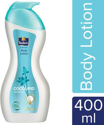 Parachute Advansed Body Lotion, Cocolipid and Water Lily, 400 ml