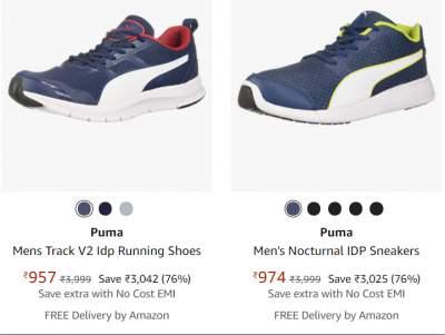 Puma Sports shoes Min.75% off