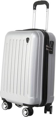 Giordano Polycarbonate 20 cms Silver Hardsided Check-in Luggage