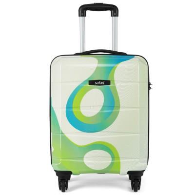 Safari Tiffany Polycarbonate 55 cms Printed Hardsided Cabin Luggage (TIFFANY554WPRN)