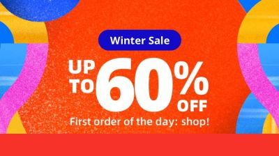 Aliexpress Winter Sale: Up to 60% Off