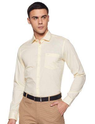 Red Tape Mens Solid Regular fit Formal Shirt