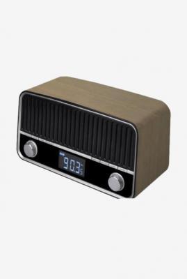 Croma ES1091 BTR12 Bluetooth Retro Radio (Brown)