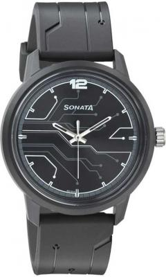 Sonata 77085PP01 Volt Analog Watch  - For Men