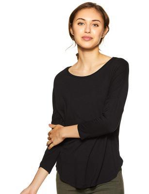 Amazon Brand - Symbol Womens Plain Loose fit T-Shirt